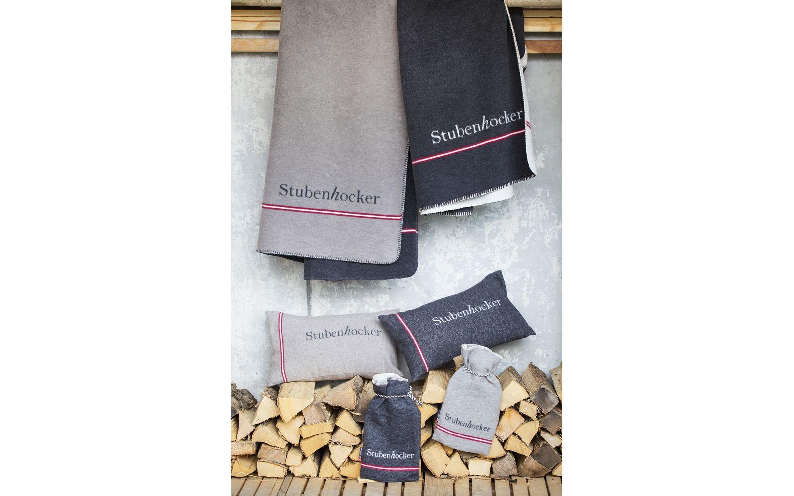 SAVONA cotton throw - Stubenhocker (=homebody)