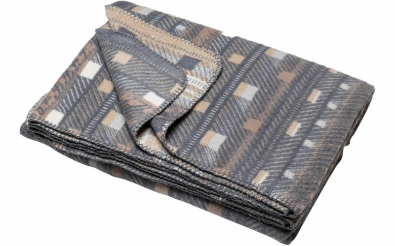 "SAVONA blanket ""geometric small pattern"""