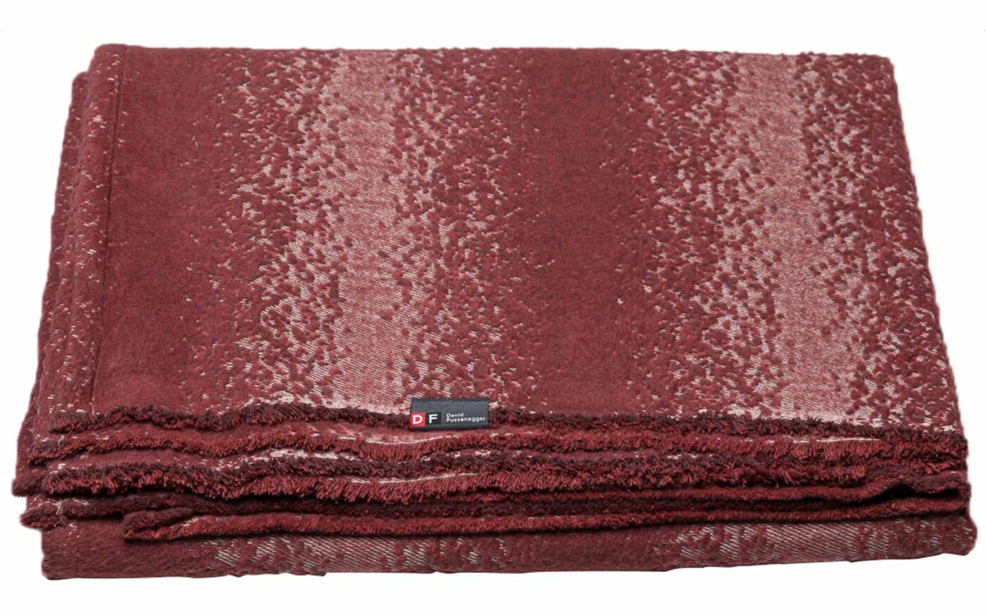 """RIGA recycling cotton throw """"structured"""""""