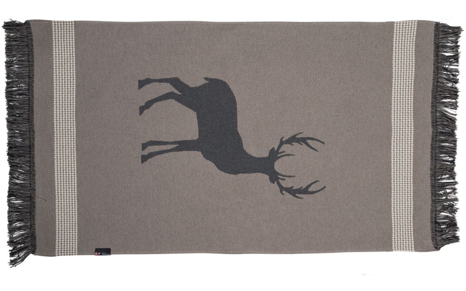"GOLIATH rug ""stag"" small, with fringes"