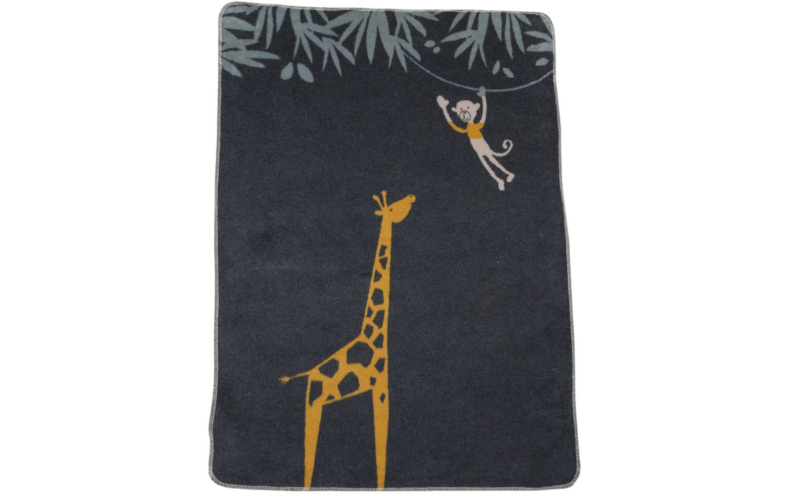 "MAJA baby blanket 100% org. cotton (GOTS) ""giraffe"""