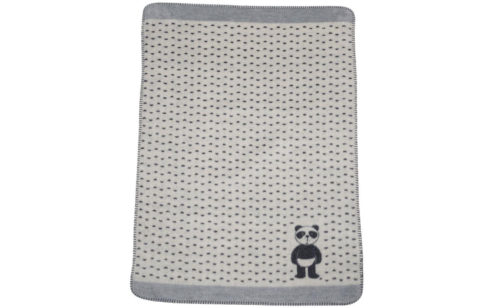 """PANDA baby blanket """"panda in diapers"""""""