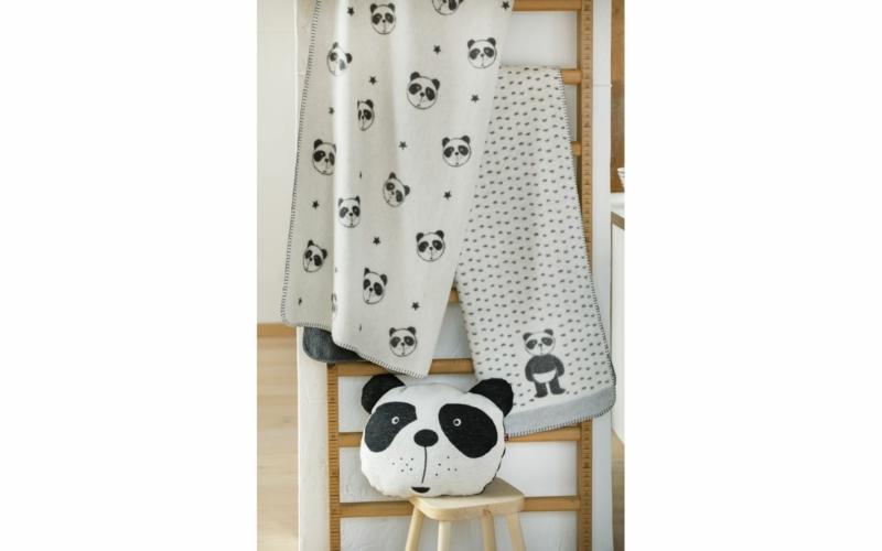 "PANDA Babydecke ""Pandabär"""