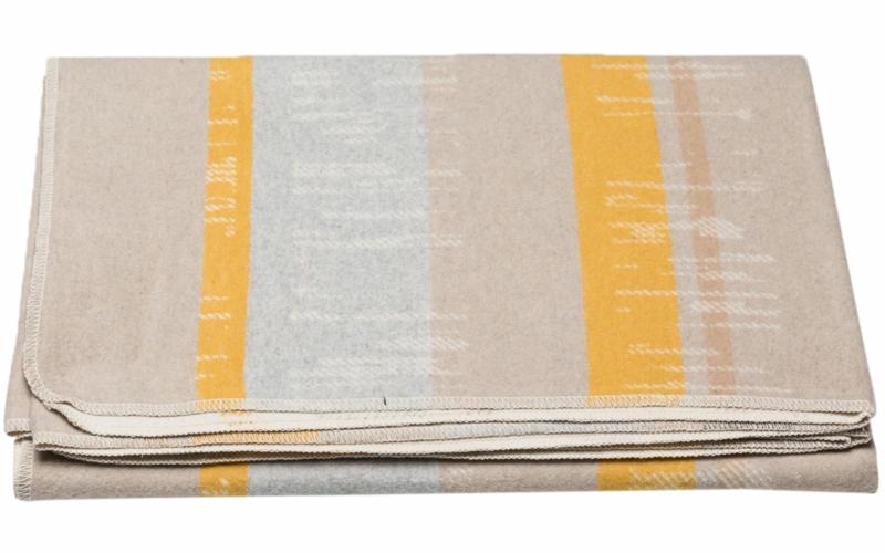 """SILVRETTA cotton throw """"stripes"""""""