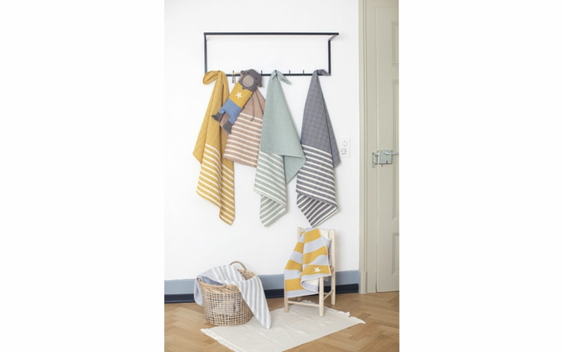 MARE KIDS honeycomb (weave), with stripes