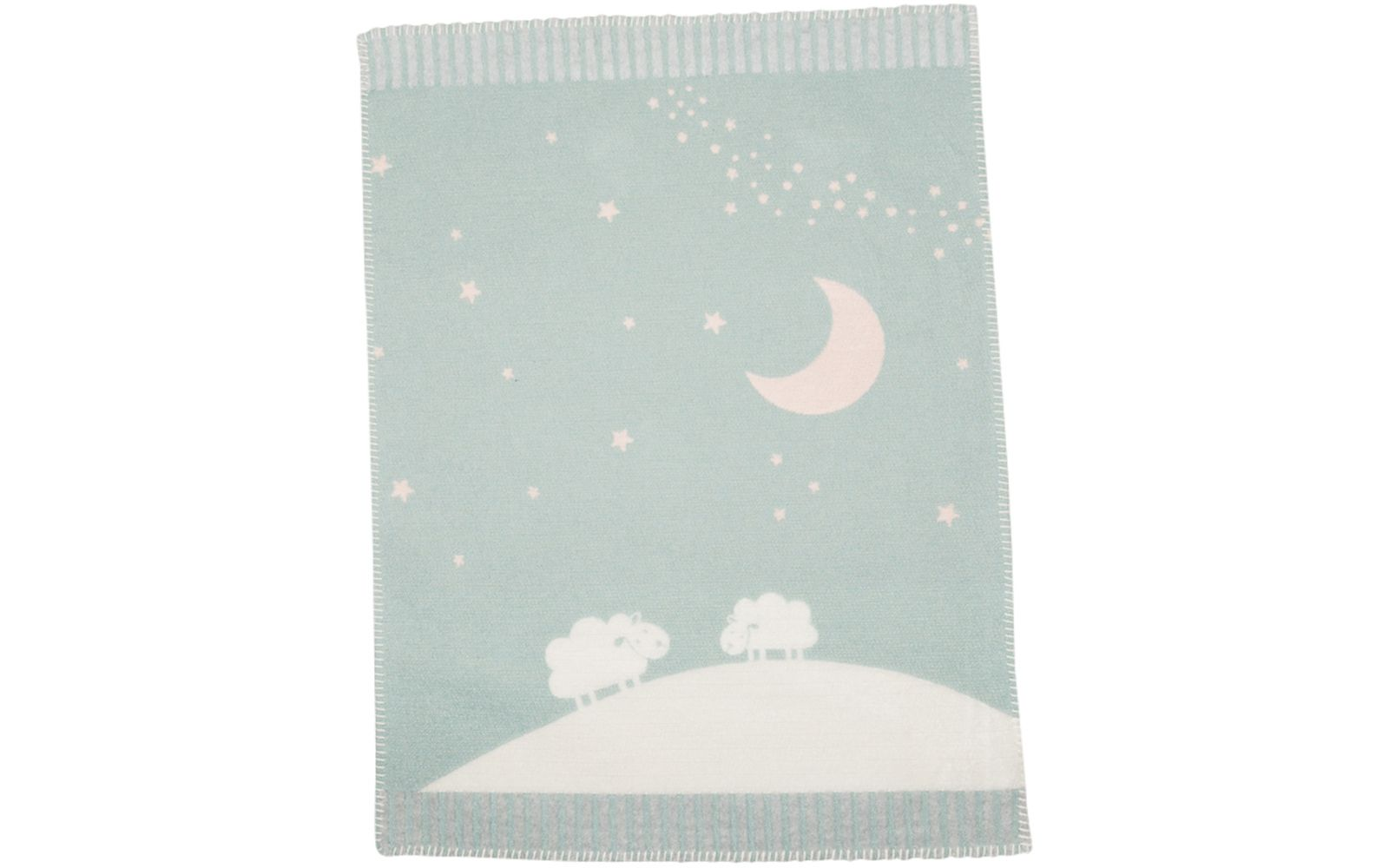 "FINN baby blanket ""moon over sheep"""