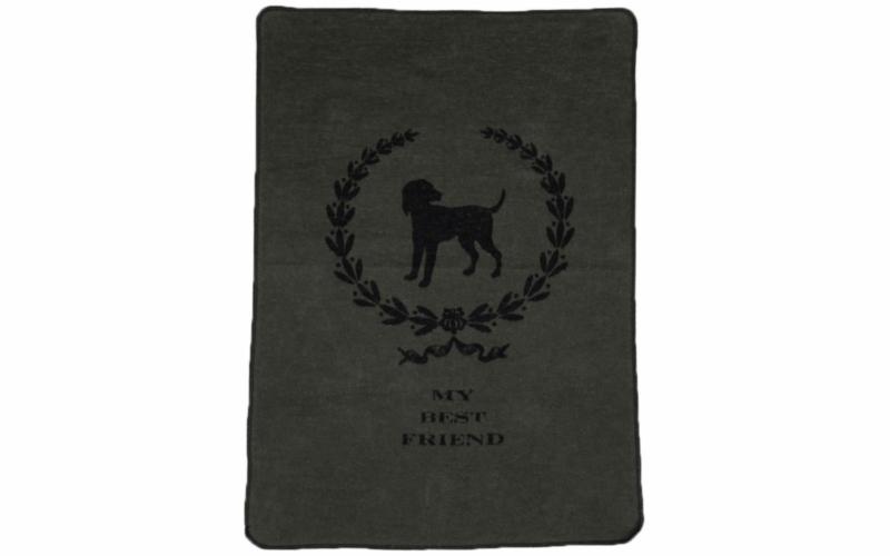 """dog blanket """"my best friend"""""""