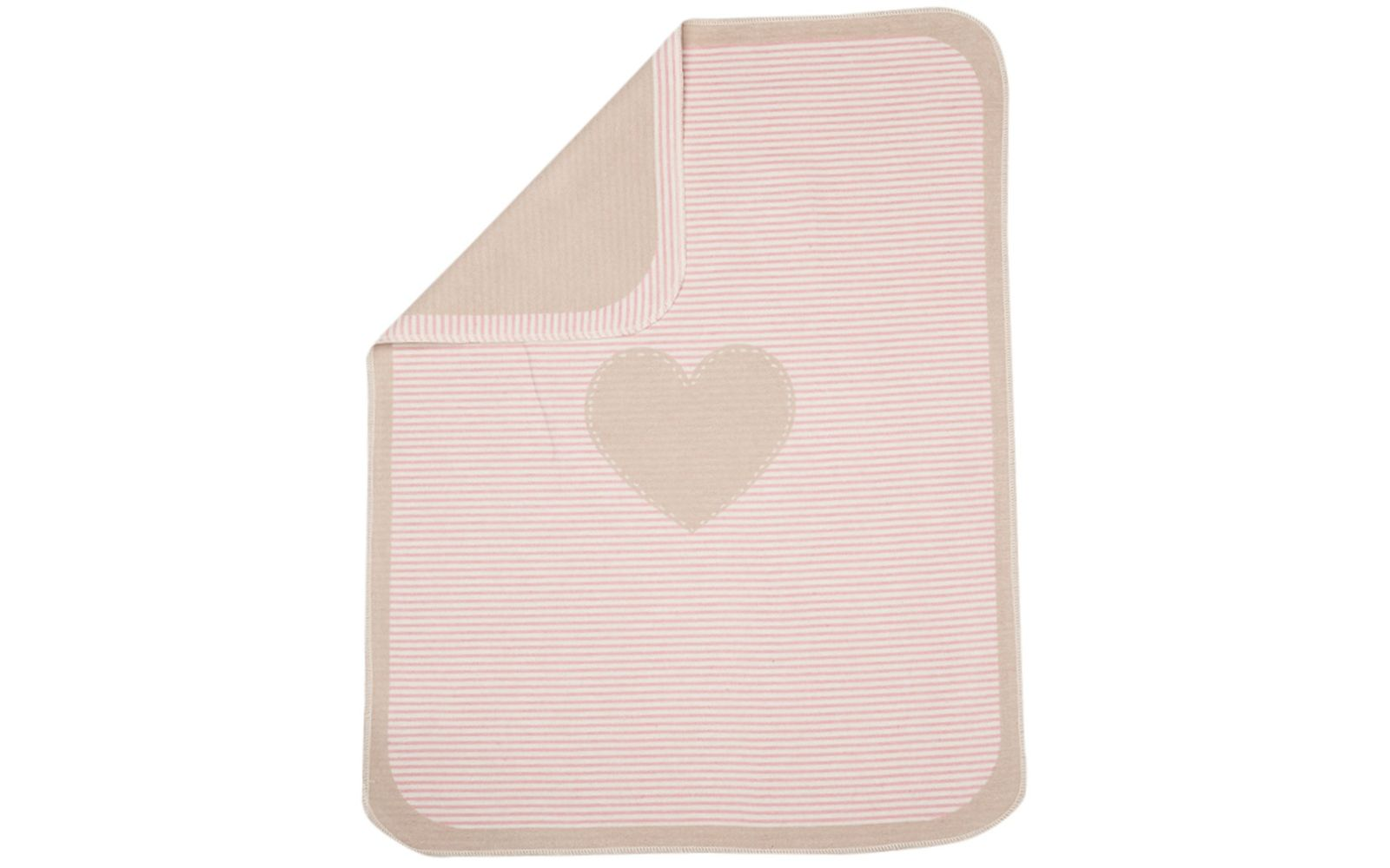 "JUWEL baby blanket ""heart"""