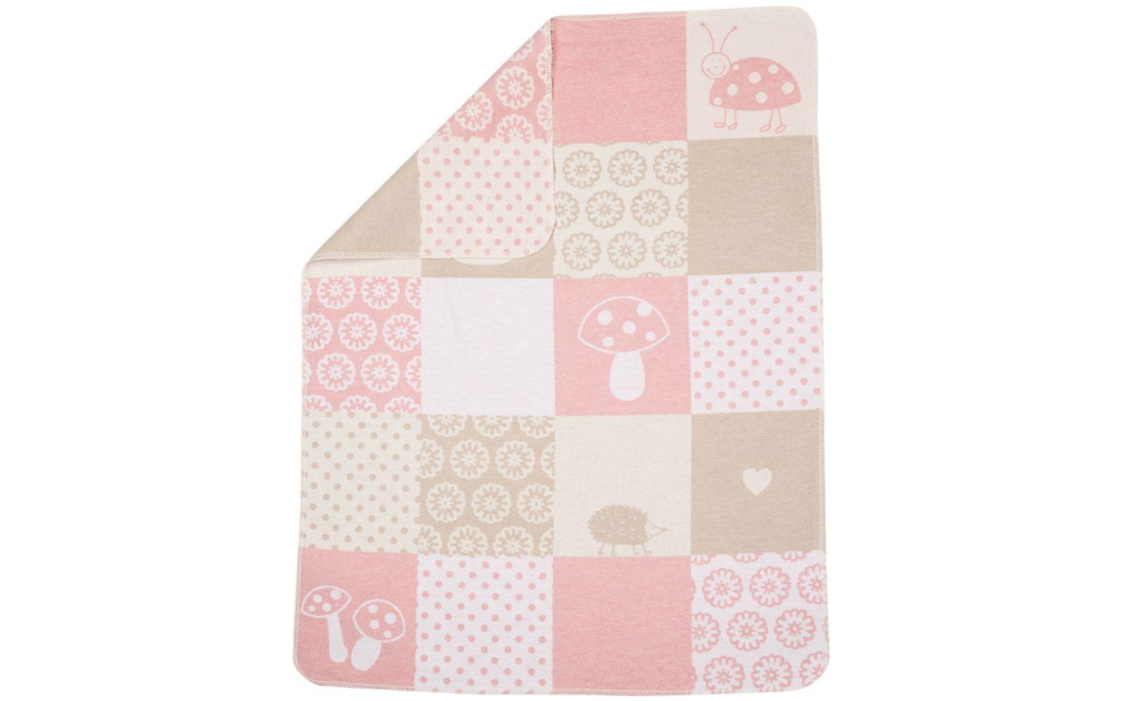"JUWEL baby blanket ""patch girl"""