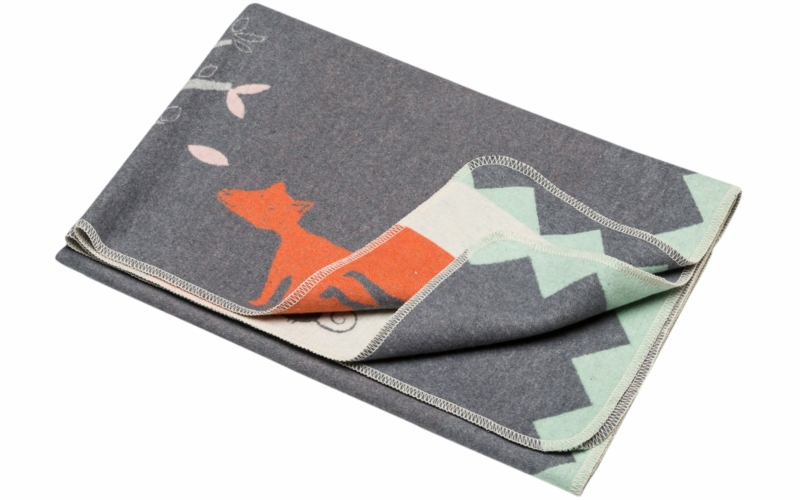 "JUWEL blanket ""fox"""