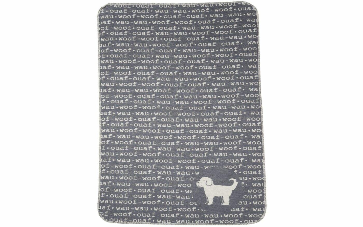 """dog blanket """"woof-woof"""""""