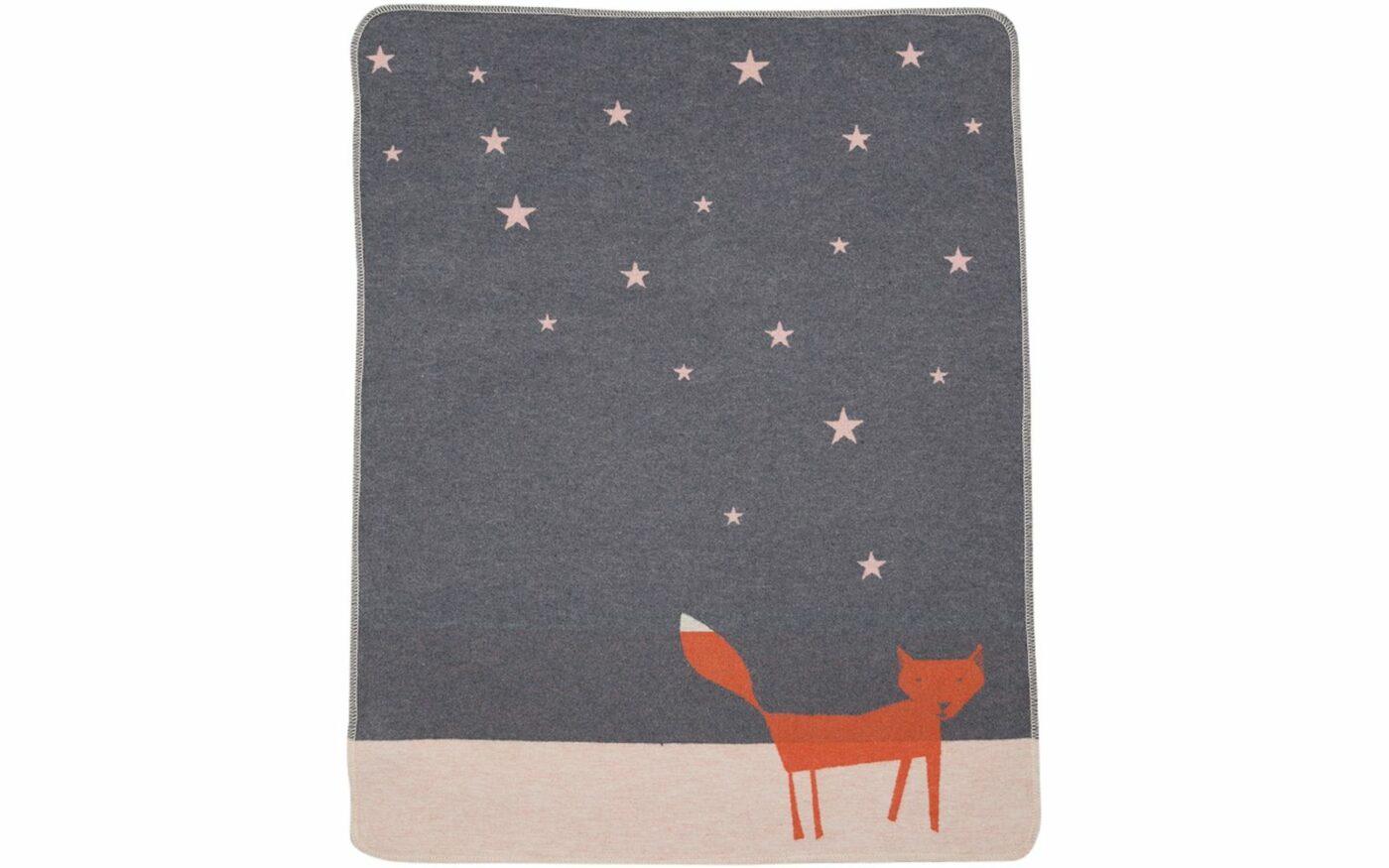 """JUWEL Babydecke """"Fuchs unter Sternen"""""""