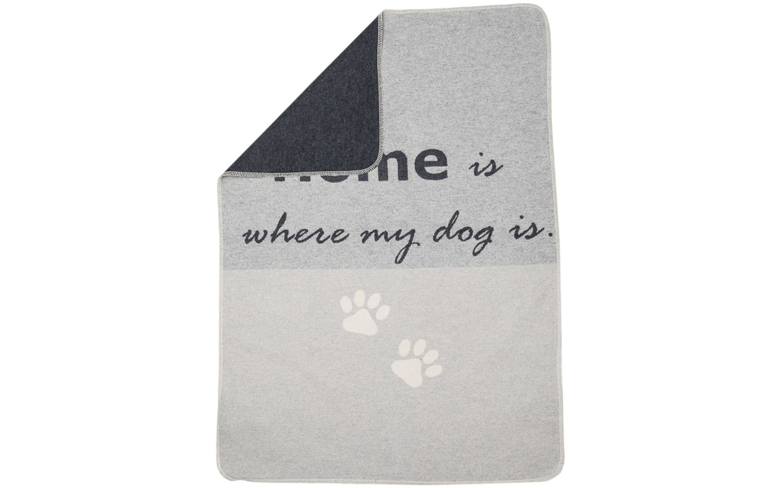 "Haustierdecke ""home is where my dog is"""