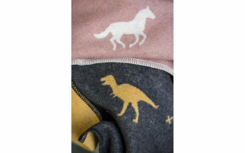 """JUWEL kids blanket """"horses allover"""""""