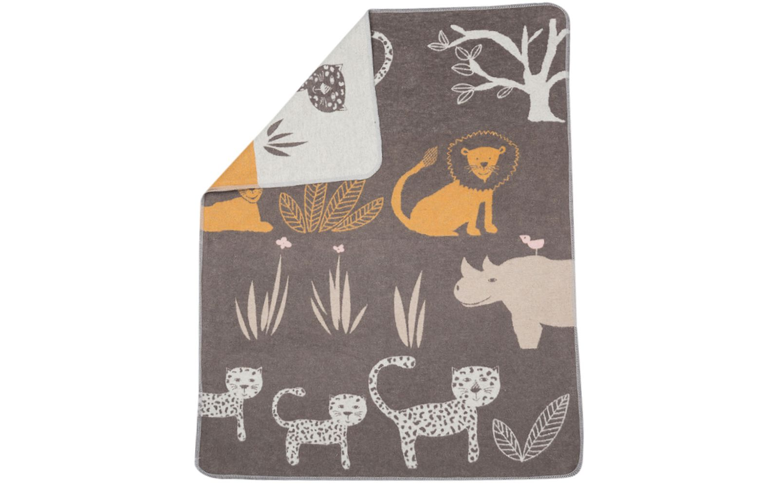 "JUWEL baby blanket ""jungle"""