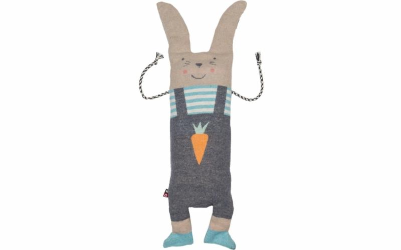 """JUWEL SET blanket in puppet """"bunny rabbit"""""""