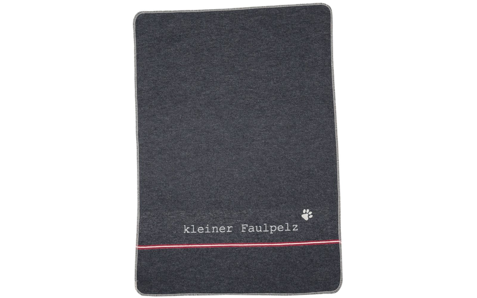 "pet blanket ""kleiner Faulpelz"" (= little lazybones)"