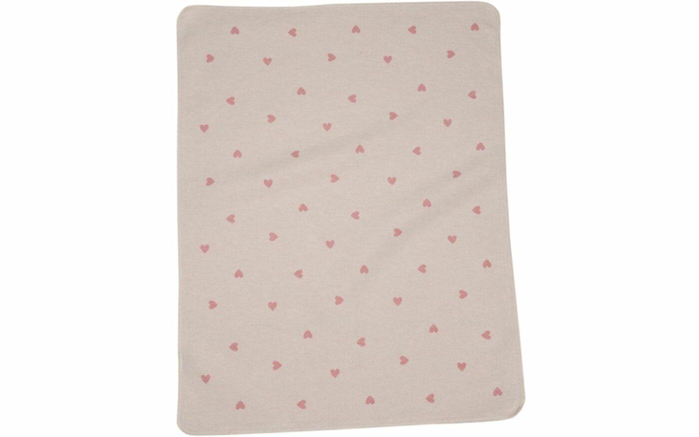 "JUWEL baby blanket ""hearts allover"""