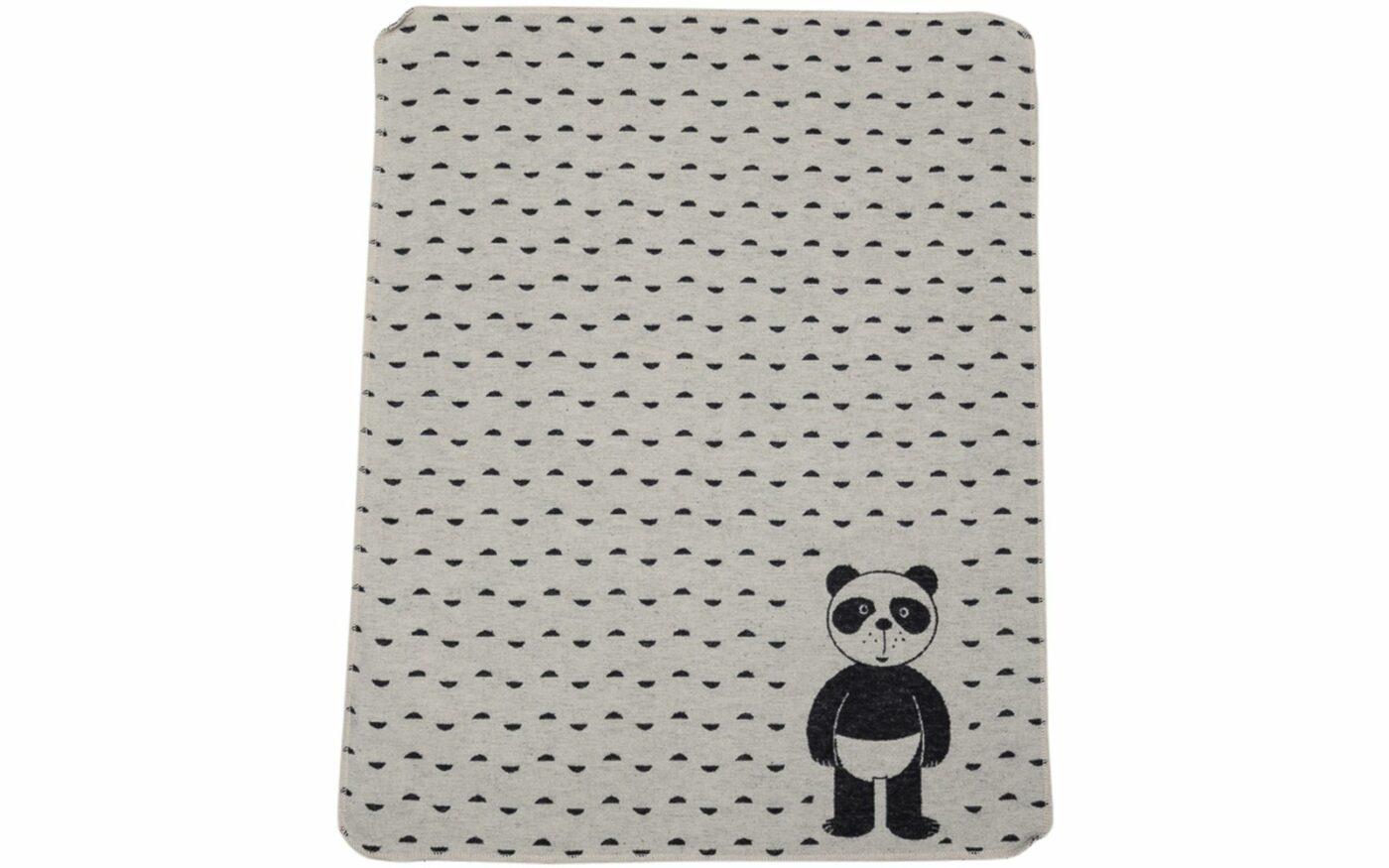 "JUWEL baby blanket ""panda in diapers"""