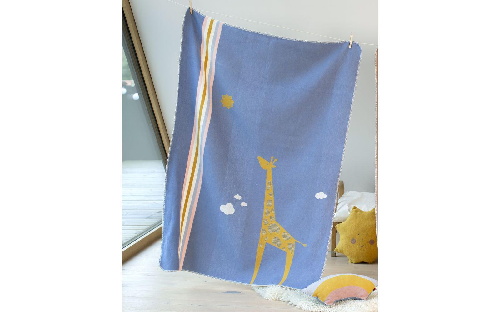 "JUWEL toddlers blanket ""giraffe"""
