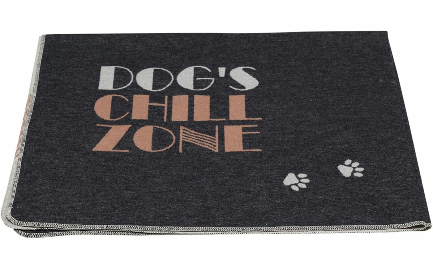 """pet blanket """"dog's chill zone""""_large"""