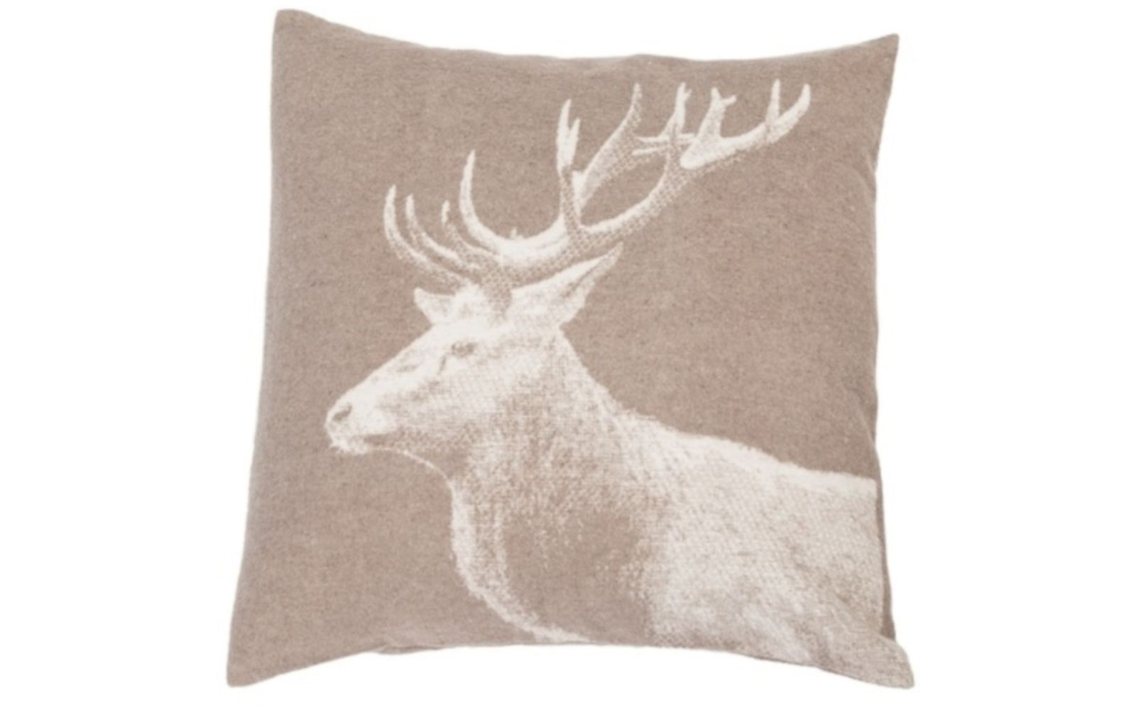 "SILVRETTA cushion cover ""stag photographic"""