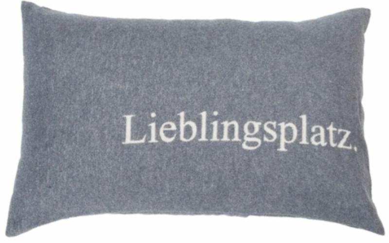 "SILVRETTA Kissenhülle ""Lieblingsplatz"""