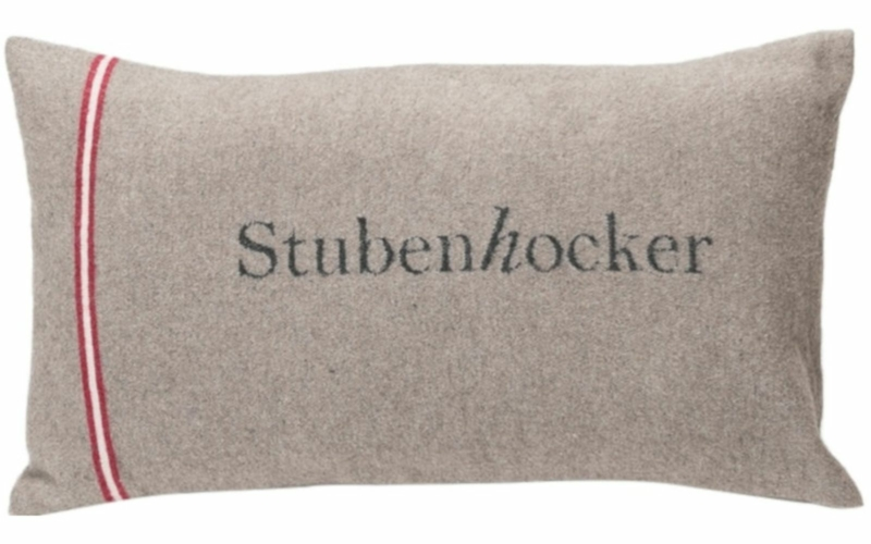 "SILVRETTA Kissenhülle ""Stubenhocker"""