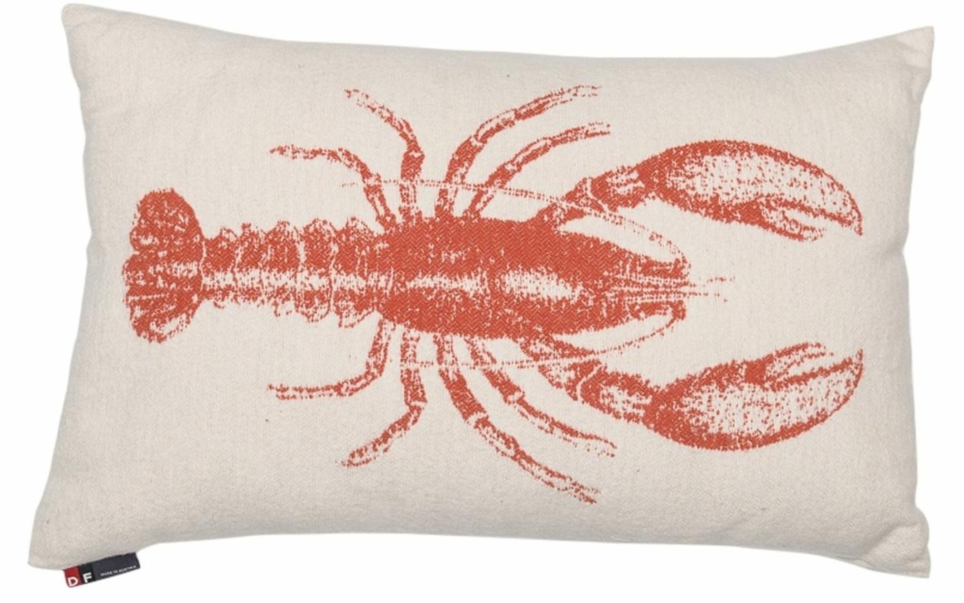 "NOVA cushion cover ""lobster"""