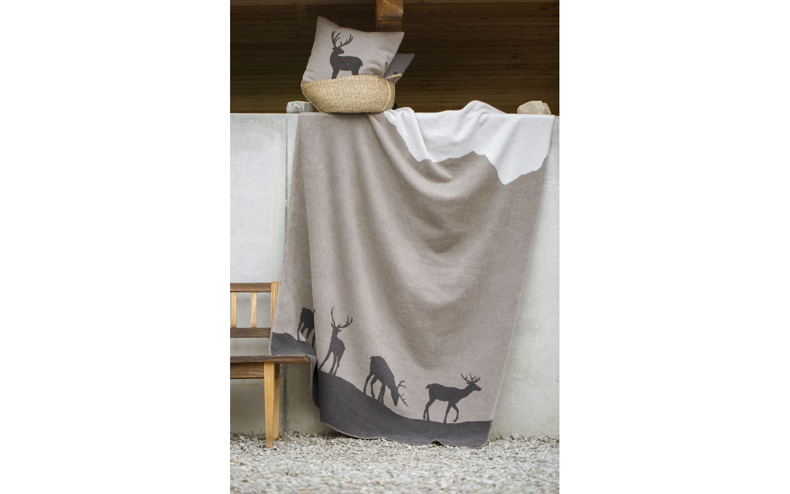 """DECO cushion cover """"stag"""""""