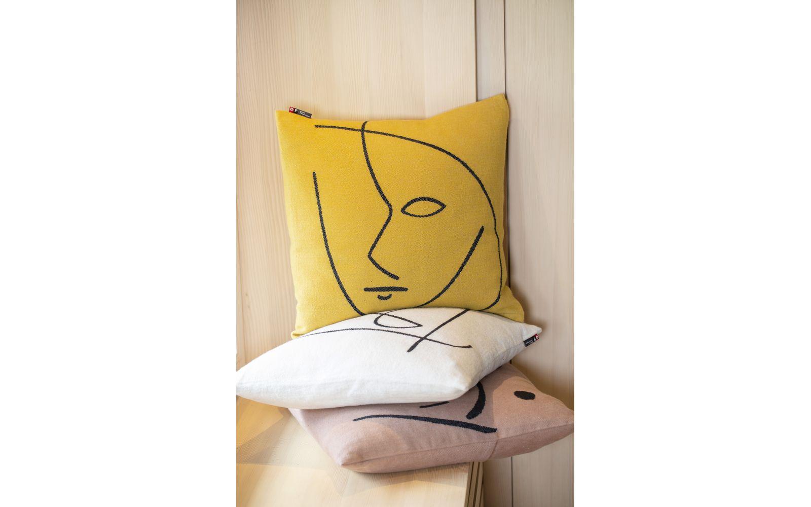 "NOVA cushion cover ""linear composition"""