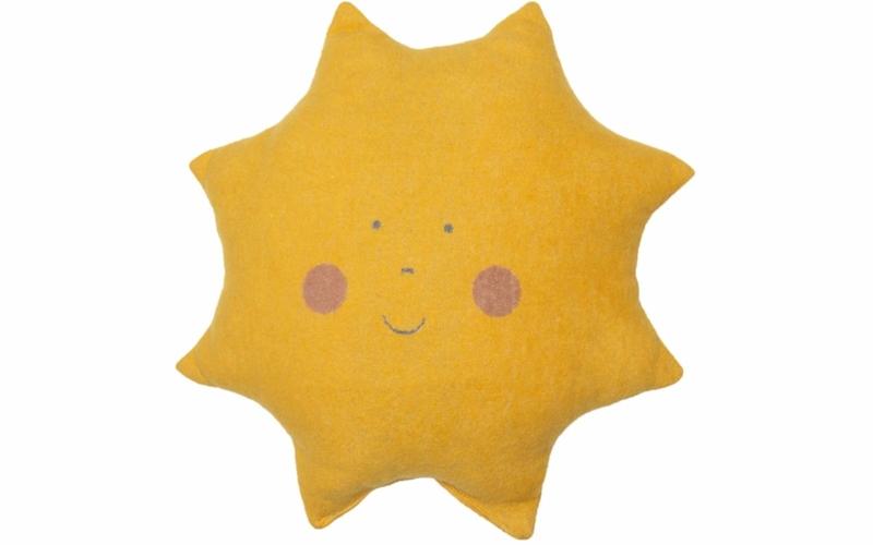 """JUWEL cushion  """"sun"""" incl. filling"""