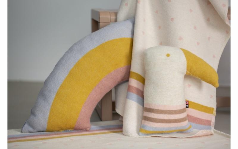 "JUWEL cushion  ""rainbow"" incl. filling"