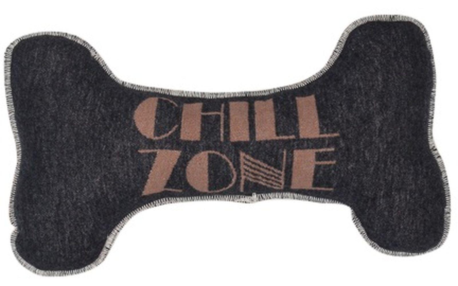 "dogbone cushion (filled) ""dog's chill zone""_large"