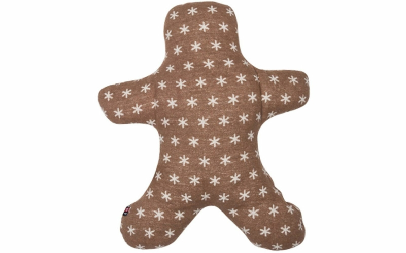 "SILVRETTA cushion  ""gingerbread man"" (incl. filling)"
