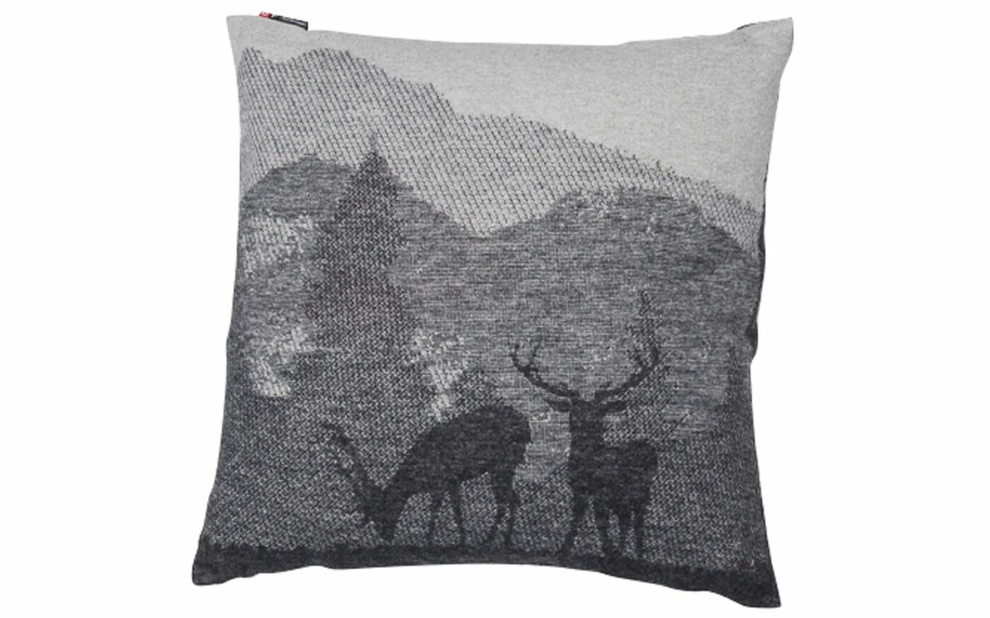 "SILVRETTA cushion cover ""landscape/stags"""