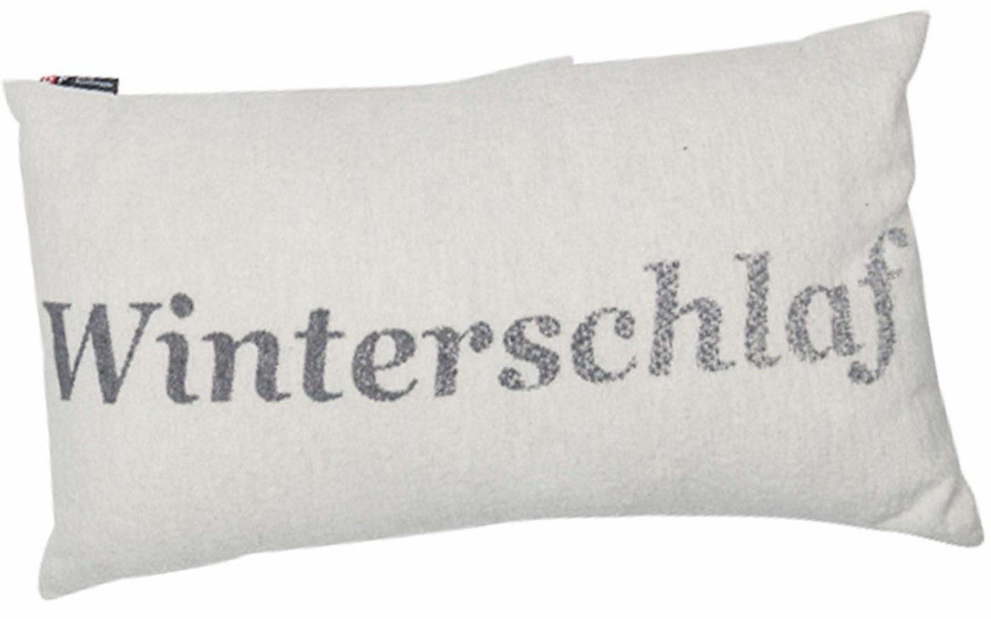 """SILVRETTA Kissenhülle """"Winterschlaf"""""""