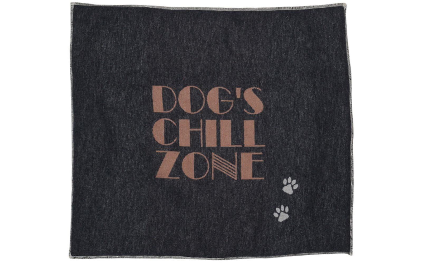 """SILVRETTA gefütterte Hundematte """"dog's chillzone""""_klein"""