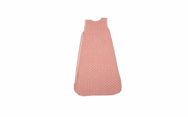 "JUWEL sleeveless bunting ""strawbery"" up to 1 yr."