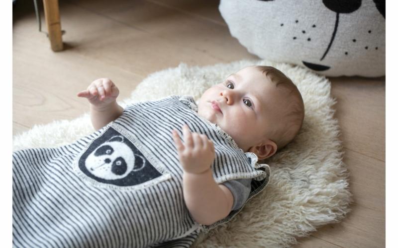 """JUWEL Flanellschlafsack """"Pandabär"""" bis 2 Jahre"""