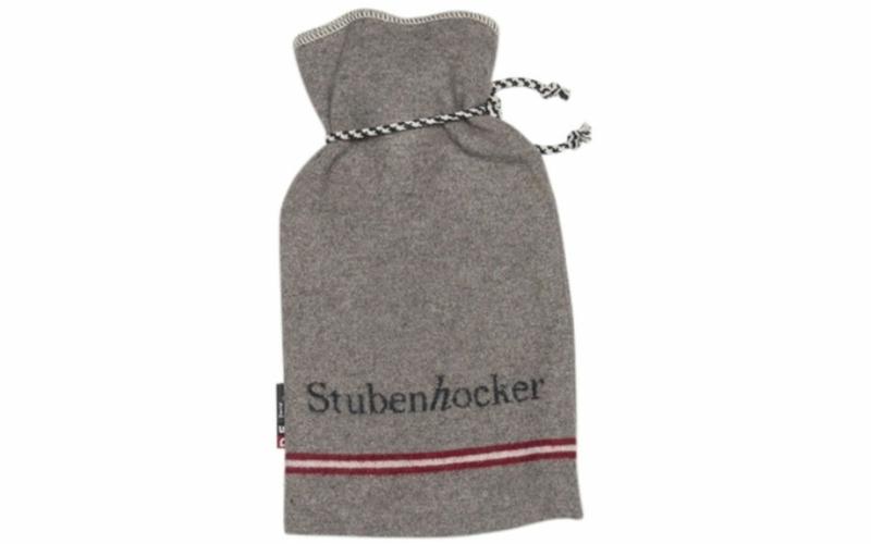 """SILVRETTA Wärmflasche """"Stubenhocker"""" 2 Liter, mit Kordel"""