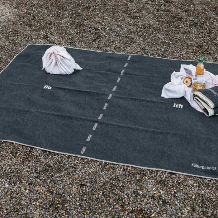 """Every crisis bears an opportunity – picnic blankets for the regional project """"Vorarlberg Culture Picnic"""""""